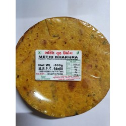 Bhakti Methi Khakhra 500Gm