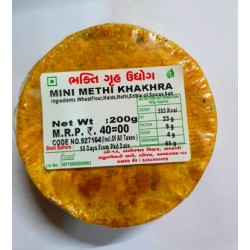 Bhakti Mini Methi Khakhra 200 gm