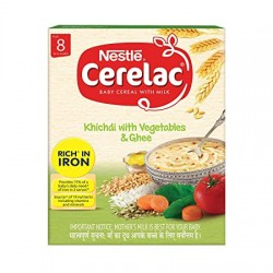 Cerelac Khichdi With Vegetables and Ghee 300Gm