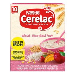 Cerelac Wheat-Rice Mixed Fruit 300Gm