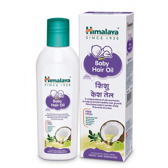 Himalaya Baby Hair Oil 100ml
