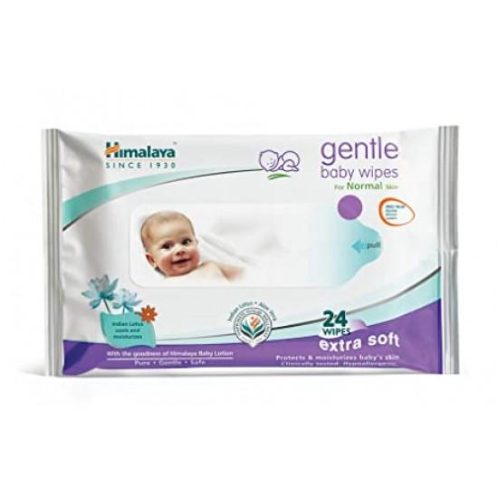 Himalaya Gentle Baby 24 Wipes