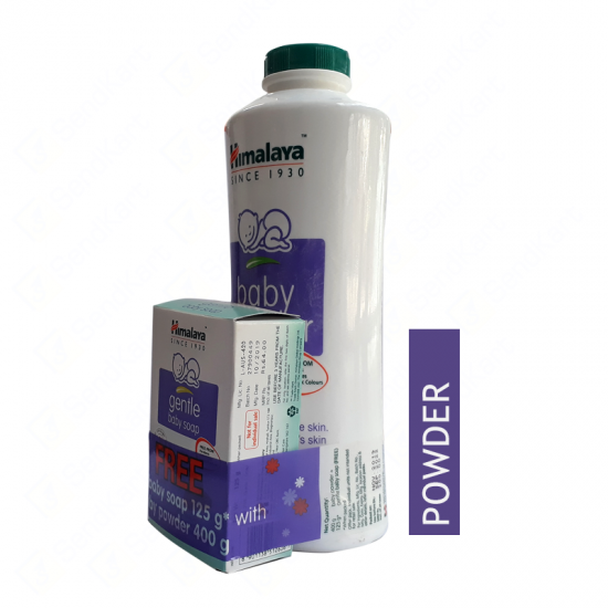 Himalaya Baby Powder - 400Gm