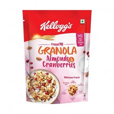 Kelloggs Crunchy Almonds & Cranberries 460gm