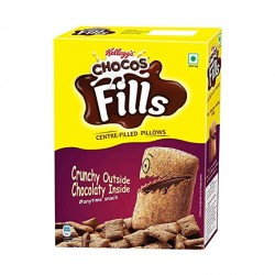 Kelloggs Chocos Centre-Filled Pillows 250gm