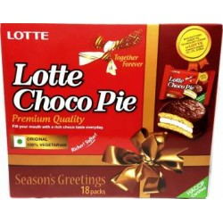 Lotte Choco Pie 18 Packs- 504gm