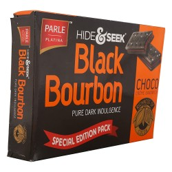 Parle Hide & Seek Black Bourbon Choclate 300gm
