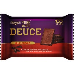Britannia Pure Magic Deuce Milk Choco 60Gm