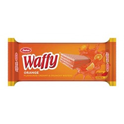 Dukes Waffy Orange Flavoured Wafers 75Gm