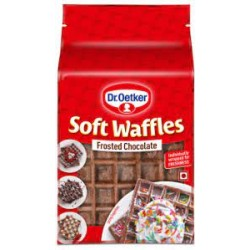 Dr Oetker Frosted Waffle Chocolate 250Gm