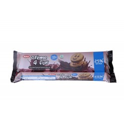 Dukes Creme 4 Fun Chocolate Flavoured Sandwich Biscuits 150Gm