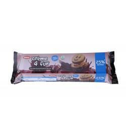 Dukes Creme 4 Fun Chocolate Flavoured Sandwich Biscuits 150Gm