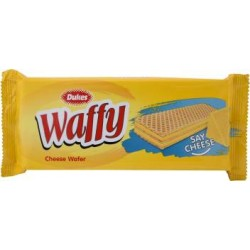 Dukes Waffy Cheese Flavoured Wafers 60Gm