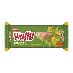 Dukes Waffy Pineapple Flavoured Wafers 75Gm