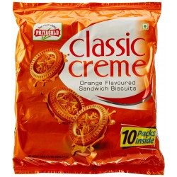 Priyagold Club Creme Orange Biscuits 400Gm