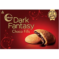 Sunfeast Dark Fantasy Choco Fills 300Gm