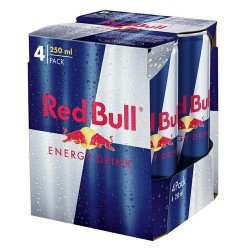 Red Bull Energy Drink 250ml 4Pack