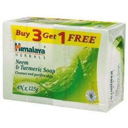 Himalaya Neem & Turmeric Soap 4*125Gm