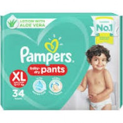 Pamper Baby Dry XL-34 Pants 12-17 kg
