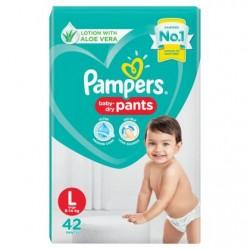 Pamper Baby Dry L-44 pants (9-14kg)