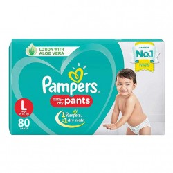 Pampers Baby-Dry Pants L-80(9-14kg)