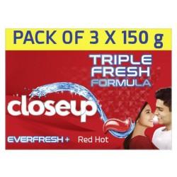 Closeup Red 3*150Gm