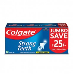 Colgate Strong Tooth Paste 500gm(200+200+100gm)
