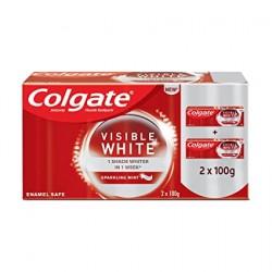 Colgate visible white 2*100gm