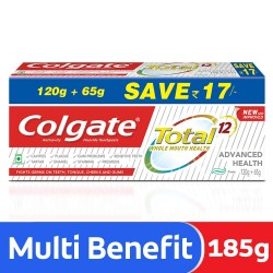 Colgate Total Advance Toothpaste (120gm + 65gm)