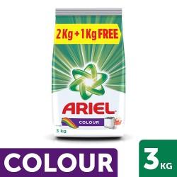 Ariel Color 2kg + 1kg free