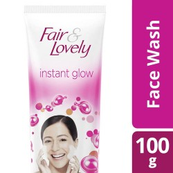 Fair & Lovely Fairness Face Wash Instant Glow, 100gm