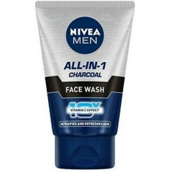 Nivea All-In-One Charcoal Face Wash 50Gm