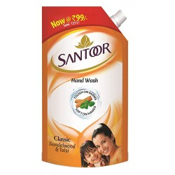 Santoor Essential Hand Wash 750 ml