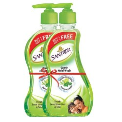 Santoor Handwash Lime and Tulsi 215 ml