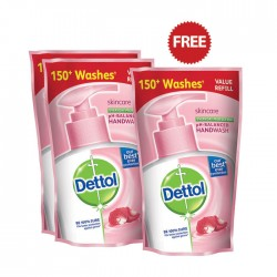 Dettol Skincare Handwash 4*175ml