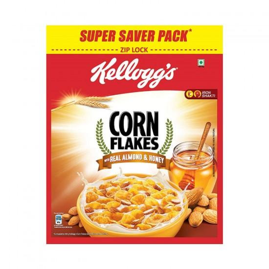 Kelloggs Almond & Honey Corn Flakes 1kg(Free Corn Flakes Worth 99/-)