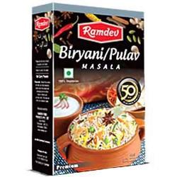 Ramdev Premium Biryani Masala 50Gm