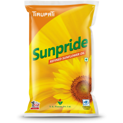 Tirupati Sunpride Sunflower Oil 1litre