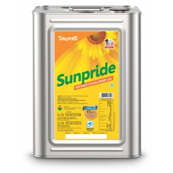 Tirupati Sunflower Oil Tin 15litre