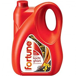 FORTUNE KACHIGHANI PURE MUSTARD OIL JAR 5L