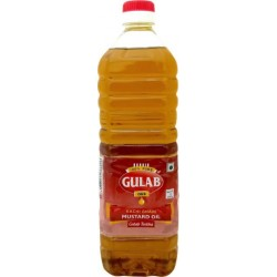 GULAB MUSTERD OIL BOTTLE 1LT