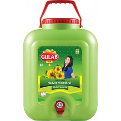 Gulab Sunflower Oil Jar 15 Litre