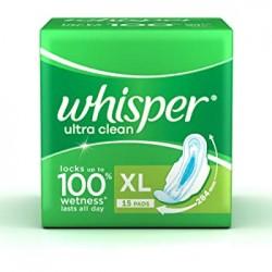 Whisper Ultra Clean XL 15 Pads