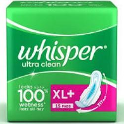 Whisper Ulitrea Clean xl+ 15 Pad