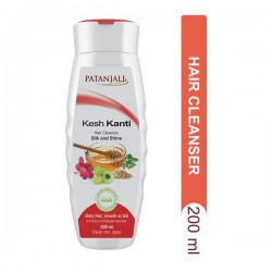 Patanjali Silk and Shine Cleanser 200ml