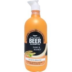 Park Avenue Shiny & Bouncy Beer Shampoo 650ml