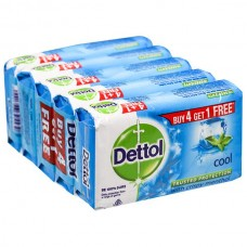 Dettol Cool Soap 4x125 gm