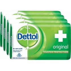 Dettol Original Soap 500gm Buy 4 Get 1 Free