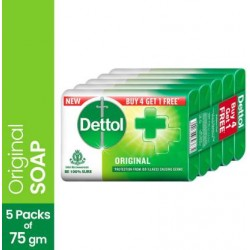 Dettol Original Soap 4x75gm-375 gm