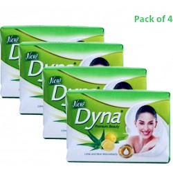 Dyna Premium Lime Soap 4x125gm